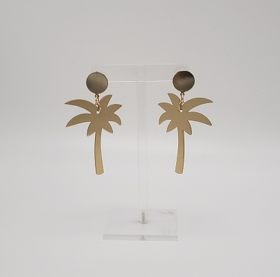 Swinging Palm Tree Earrings
