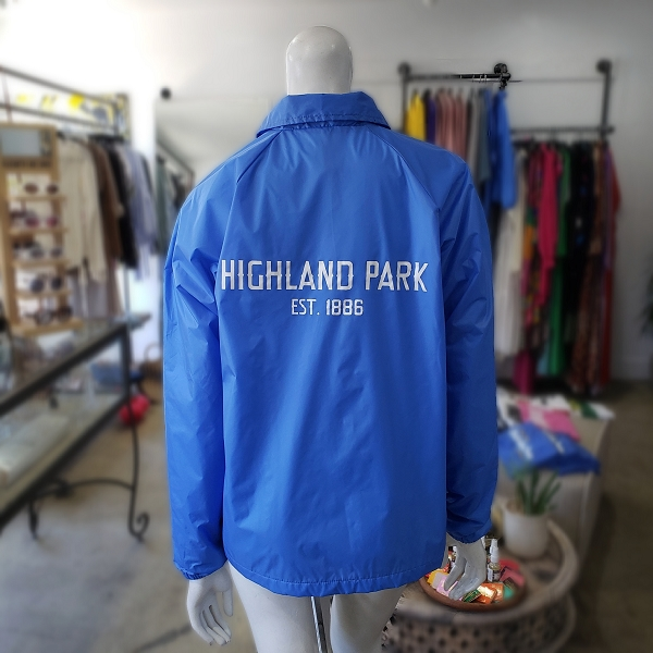HIGHLAND PARK x STORE242 LIGHT BLUE Coach Jacket