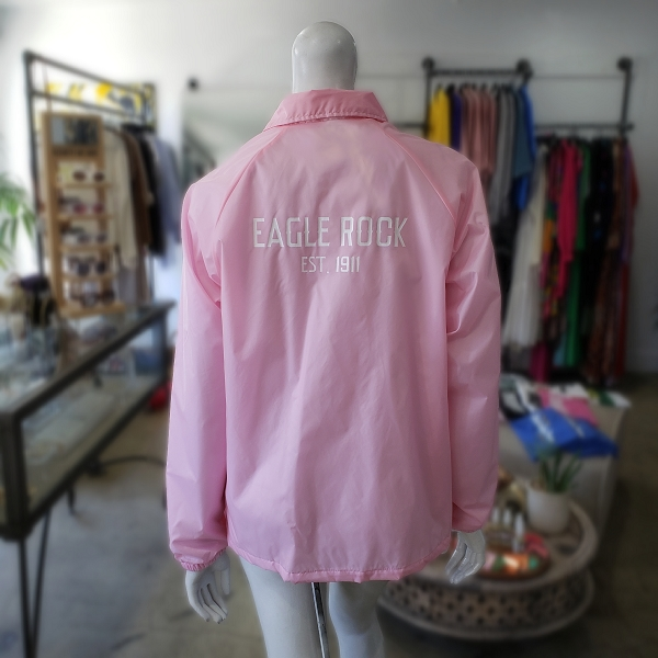 EAGLE ROCK x STORE242 PINK Coach Jacket