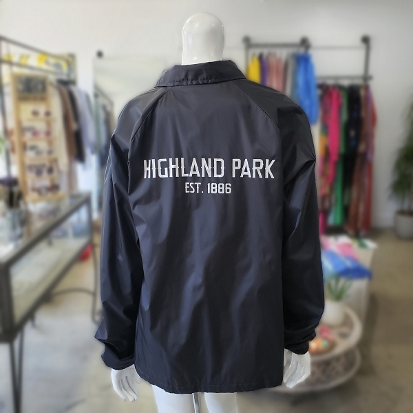 HIGHLAND PARK x STORE242 BLACK Coach Jacket