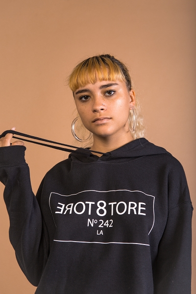 STORE242 Cropped Hoodie
